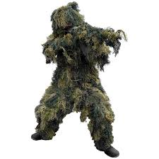 Airsoft Sniper Ghillie suit game voor vriendenclub