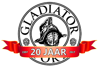 Gladiator Sports 20 jaar logo
