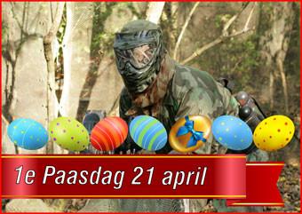 08. 1e Paasdag Paintball 21 april