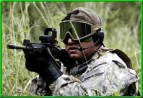 Airsoft Standaard<br> incl. 300 BB's p.p.