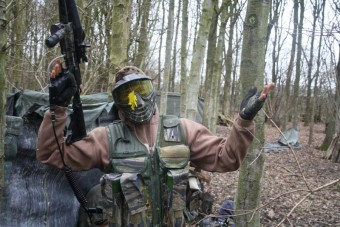 Paintball school 2 uur(18+)