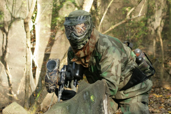 1 uur Paintball Unlimited