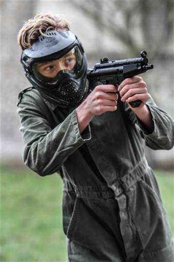 Kinder Airsoft <br> Trigger Happy 500 BB&#039;s