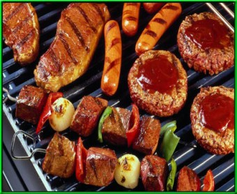 Barbecue (vlees, kip, vis of vegetarisch)