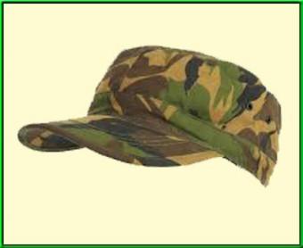 Woodland combat cap aandenken