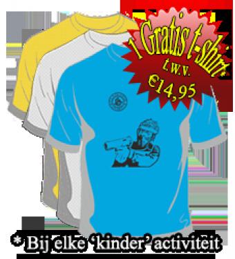 """T-shirt """"Coolste feestje ooit"""""""
