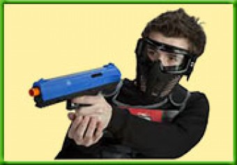 Kinder Paintballen <br>Trigger Happy 100 paintballs