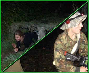 Survival Moonlight met <br>  Lasercombat