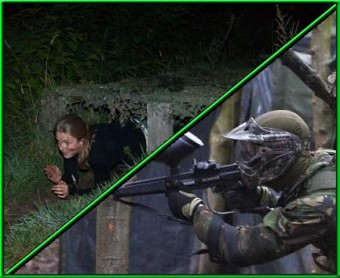 Survival Moonlight met <br> Paintball/Airsoft