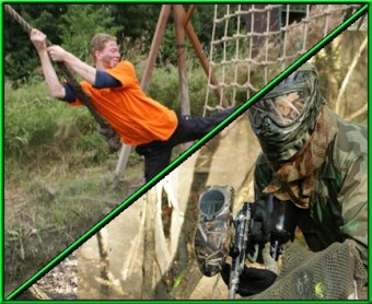 Survival Basic met Paintball