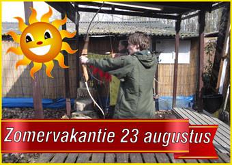 21. Zomervakantie Boogschieten 23 augustus